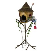 Fountasia Fairy House - Straw With Ladder (PS95109)